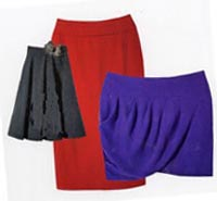 Fifties' skirts are back in fashion