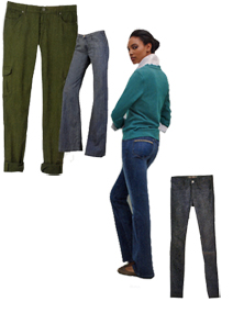 pants and jeggings are hot for fall, winter 2010